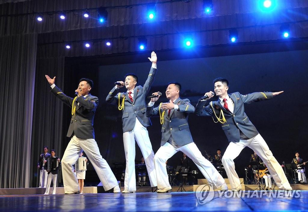 朝鲜共青同盟创立90周年庆祝演出