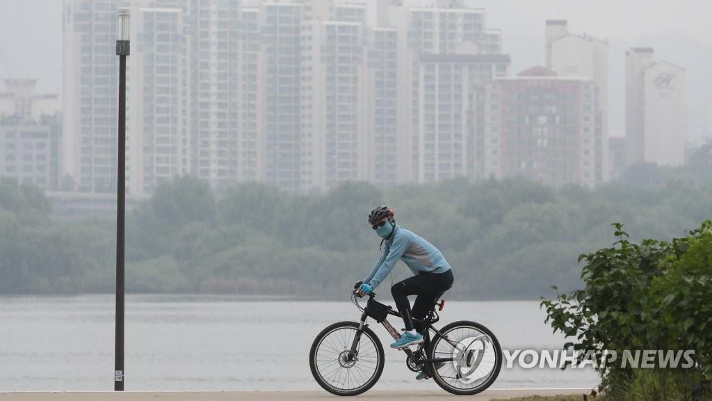 首尔被雾霾笼罩