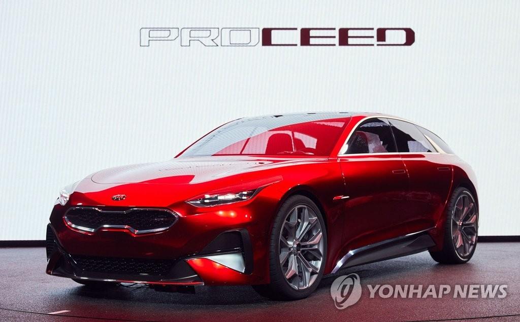 起亚pro_cee'd概念车