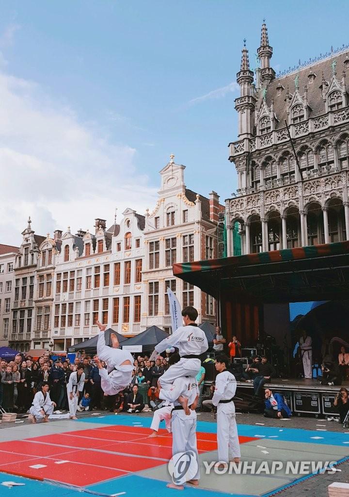 跆拳道走进比利时