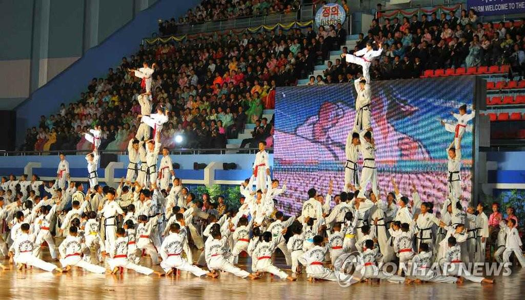 世界跆拳道锦标赛在平壤开幕