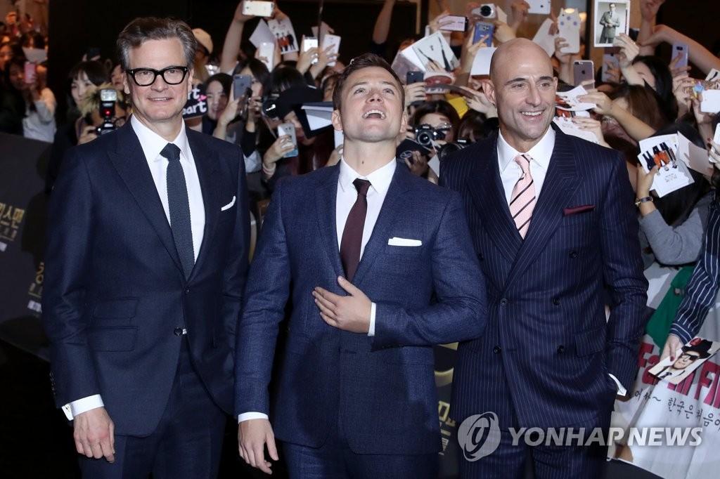 《王牌特工2》主创人员来韩造势