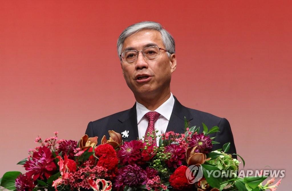 中国驻韩大使馆举行国庆招待会