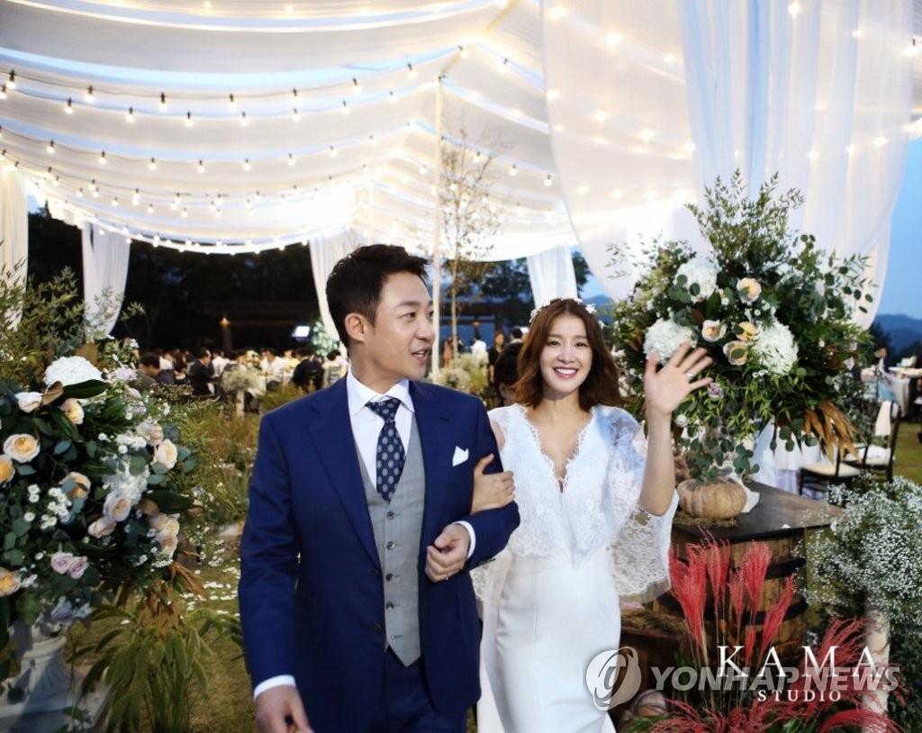 李诗英婚礼现场照
