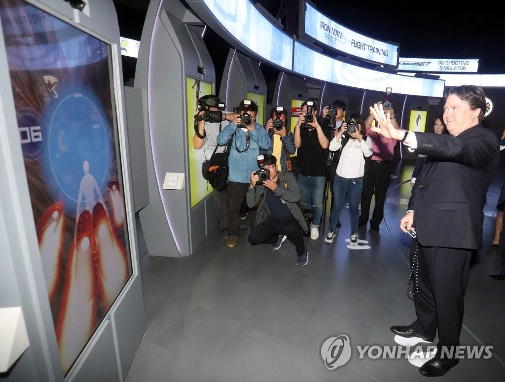 釜山漫威体验馆举办媒体日活动