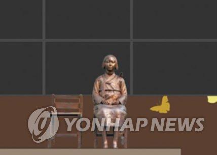 慰安妇少女像立在纽约