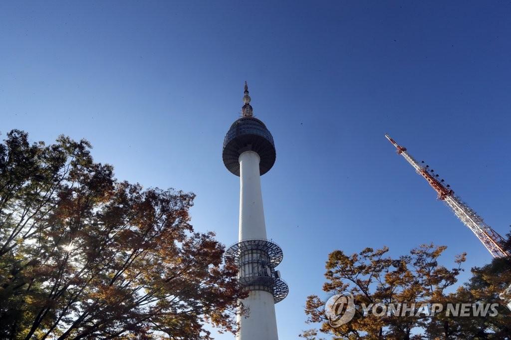资料图片:N首尔塔(韩联社)