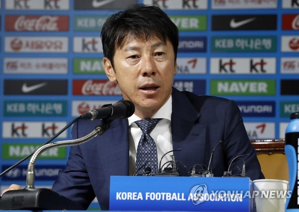 韩国足主帅公布热身赛选手名单