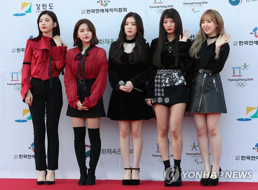 女团Red Velvet魅力满分