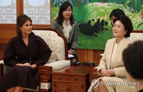 韩美第一夫人将时隔30年举行单独午餐会
