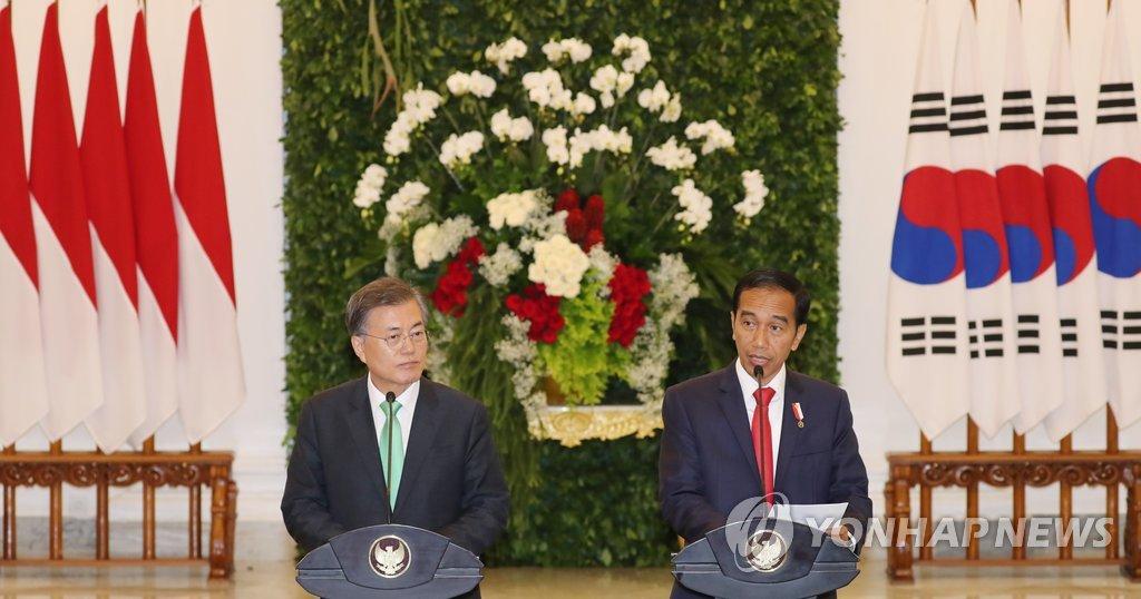 印尼总统佐科将对韩国进行国事访问