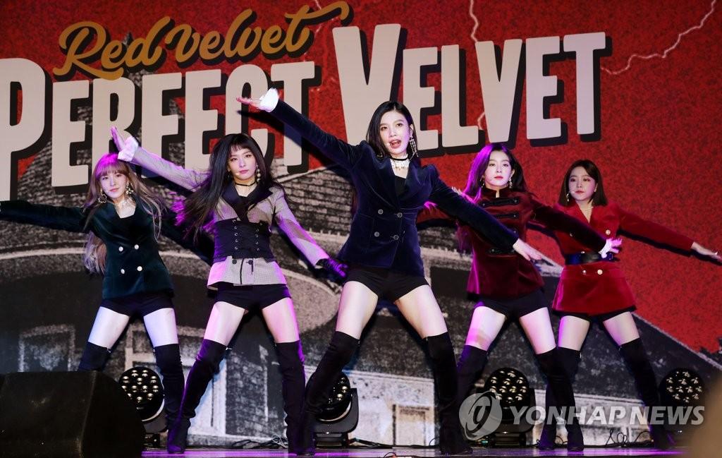 Red Velvet秀丝绒范