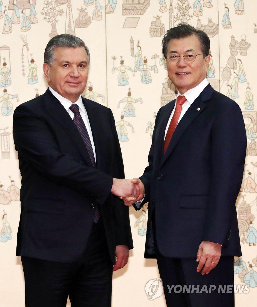 韩乌首脑会晤