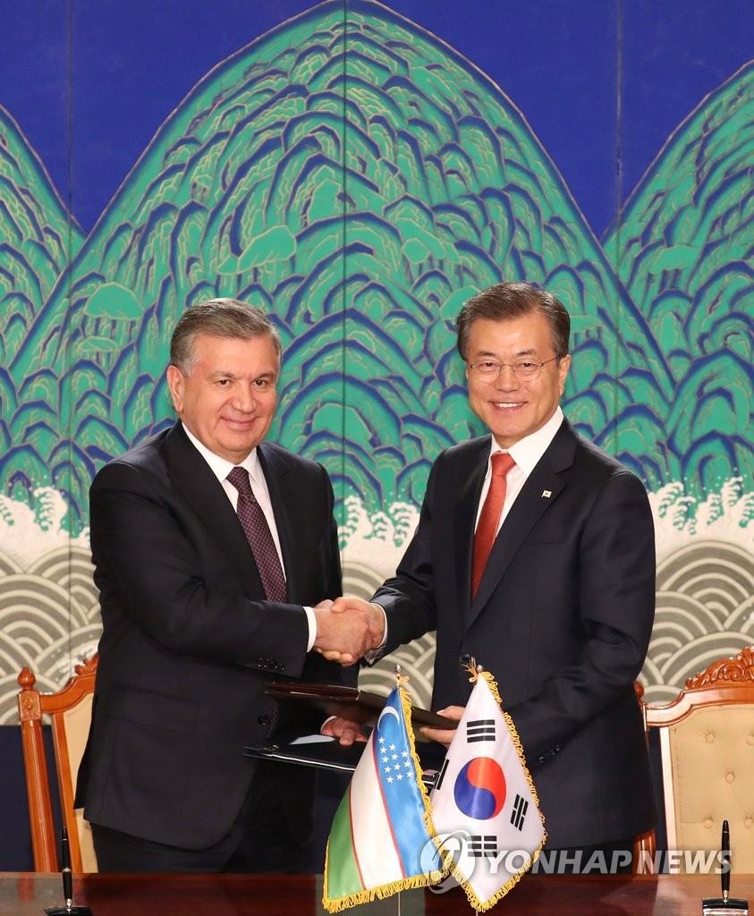 韩-乌兹别克关系新发展
