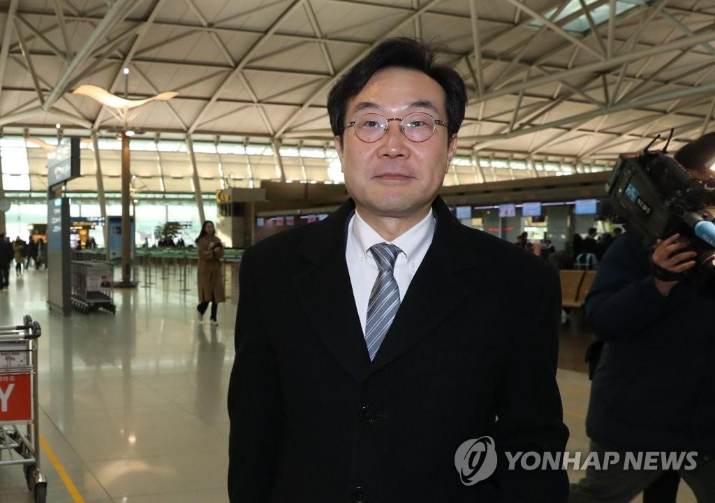 朝核六方会谈韩方团长访美