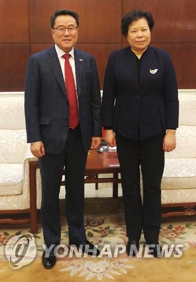 韩中气象合作会议在京举行