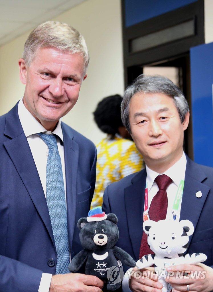 韩环境部次官会联合国环境署主任