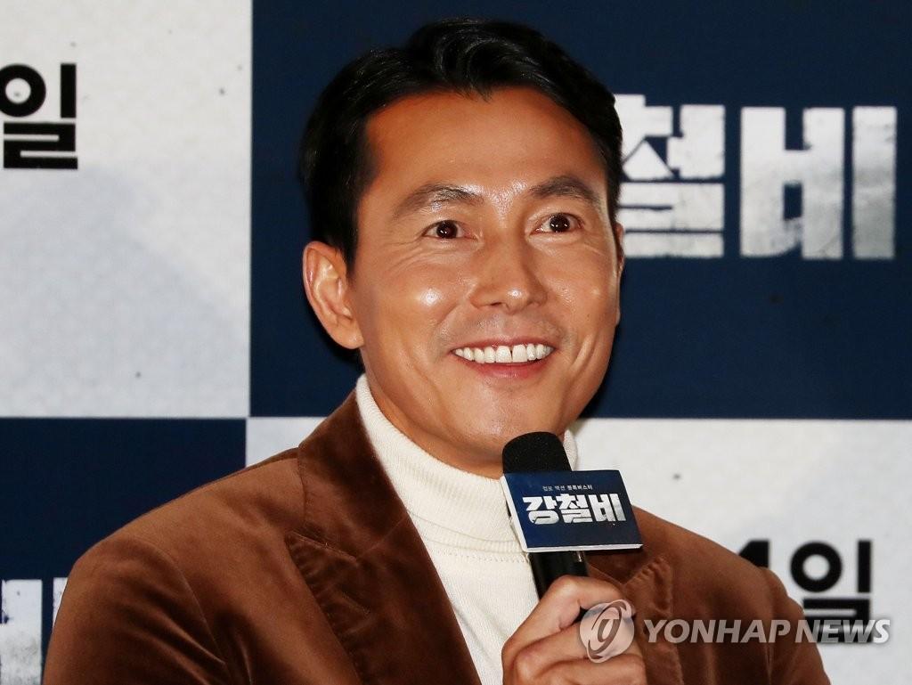 郑雨盛主演韩片《钢铁雨》