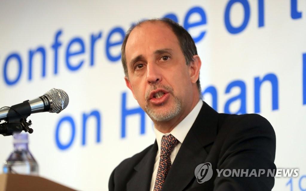 联合国朝鲜人权报告员开记者会