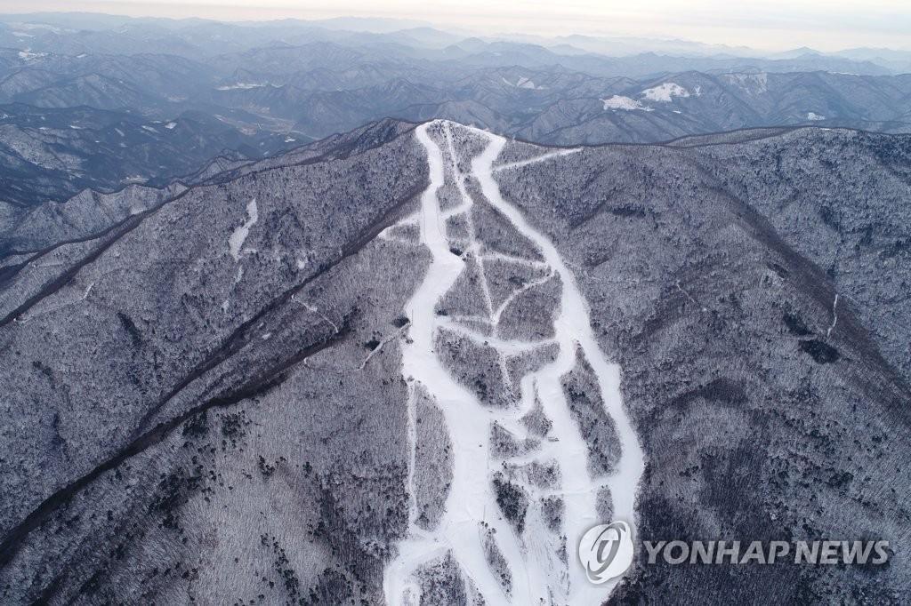 平昌冬奥高山滑雪竞技场