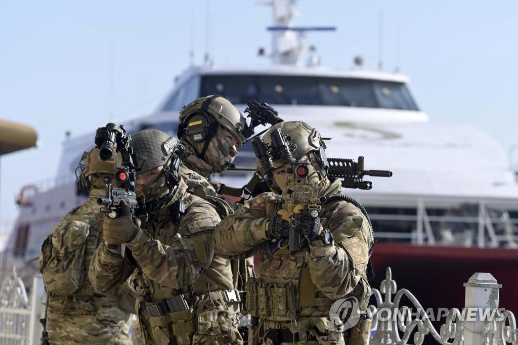 海上反恐力保冬奥平安