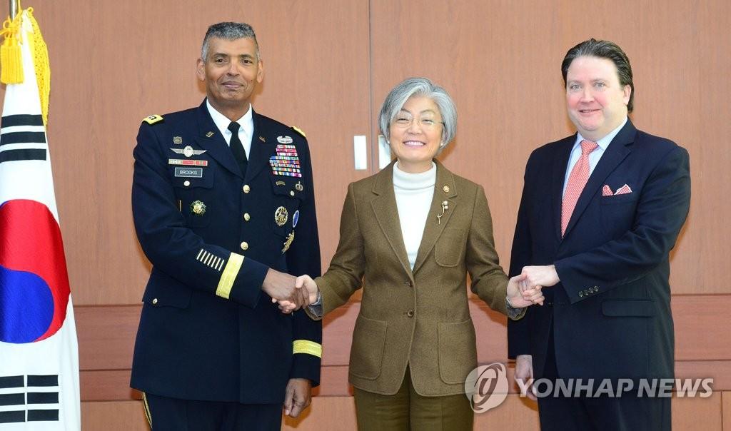 韩外长接见美国驻韩临时代办