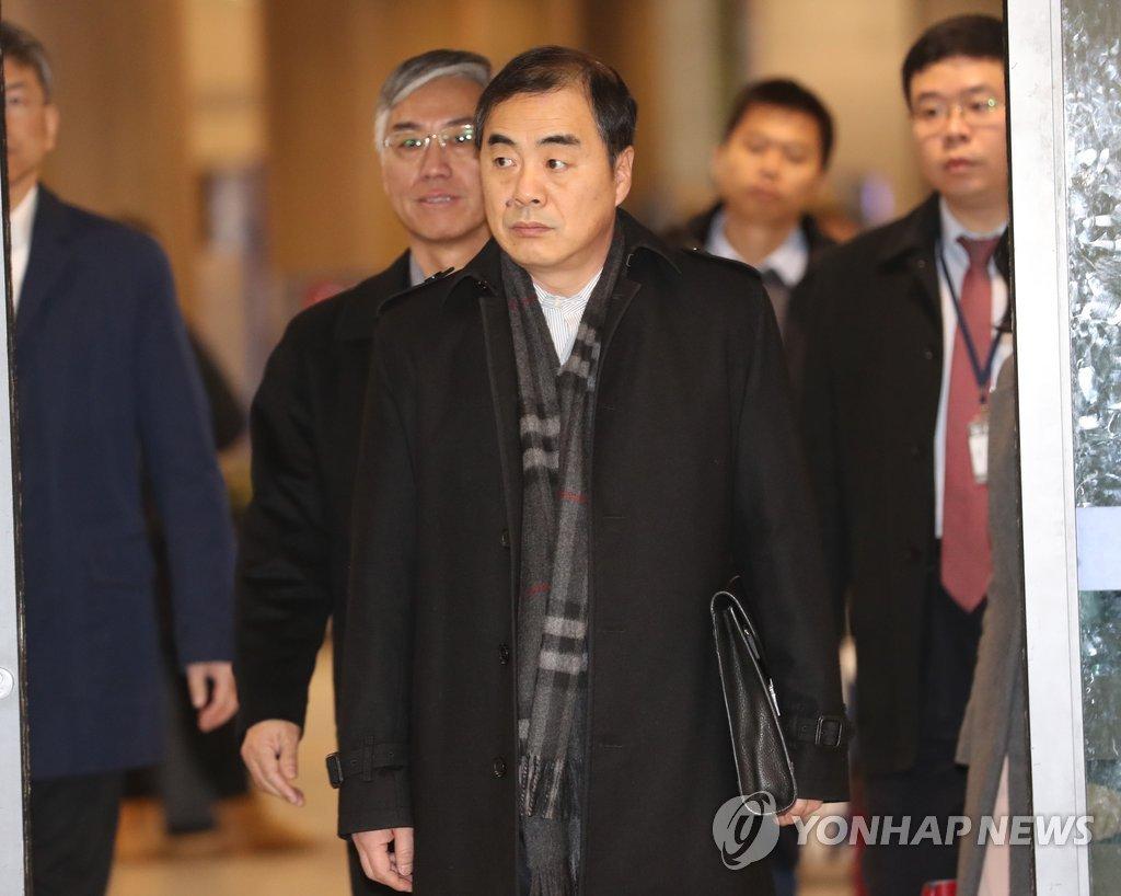 朝核六方会谈中方团长访韩