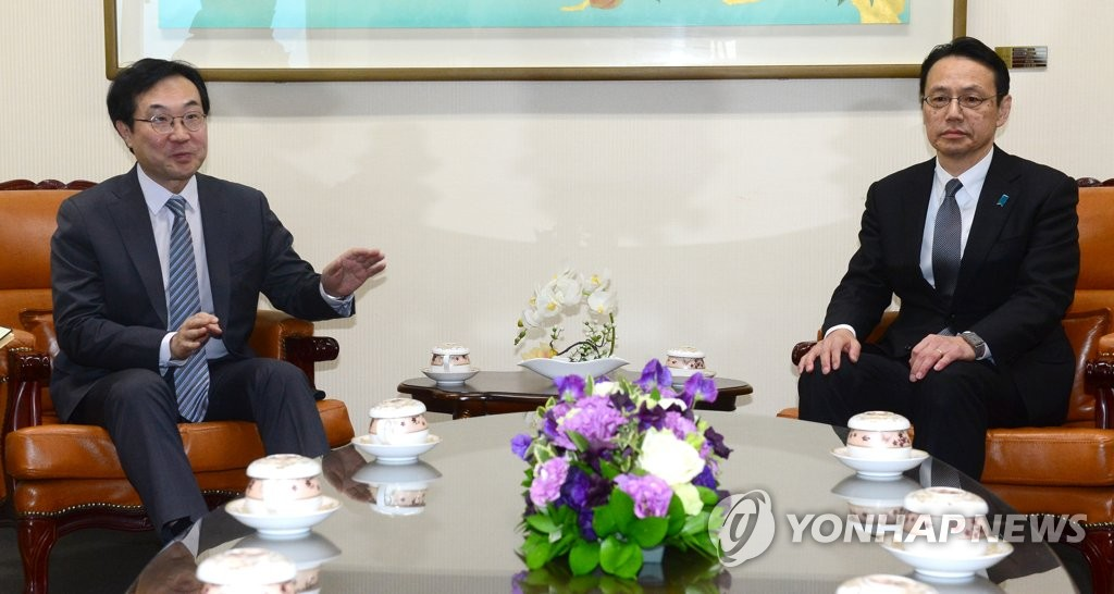 朝核六方会谈韩日团长商讨半岛局势