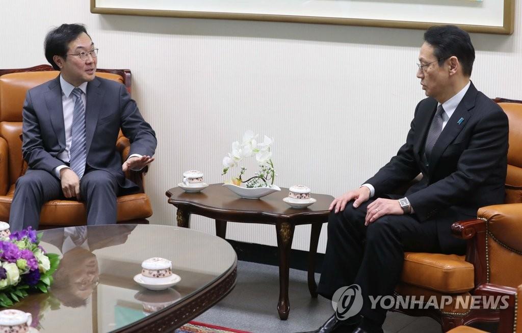 六方会谈韩日团长会晤