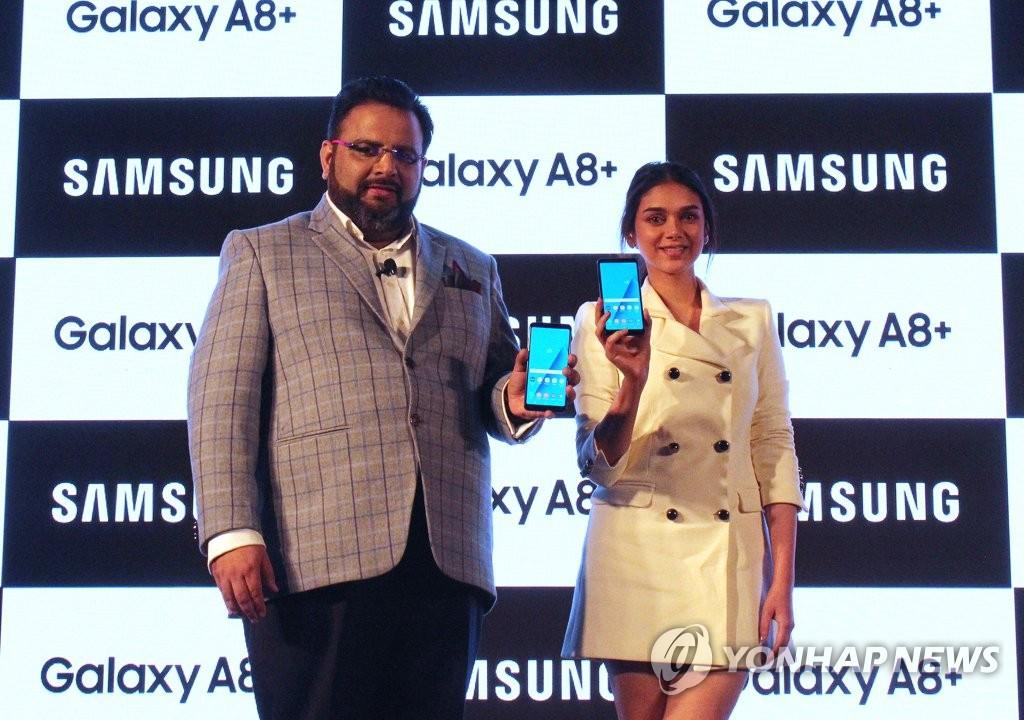 三星Galaxy A8+登陆印度市场