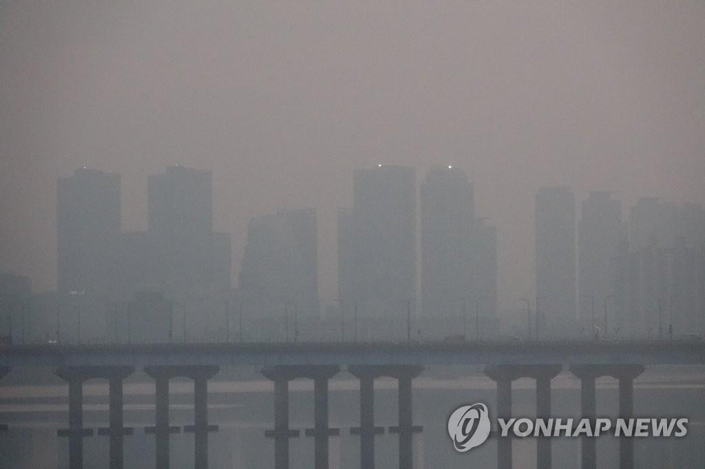 首尔又遇雾霾天