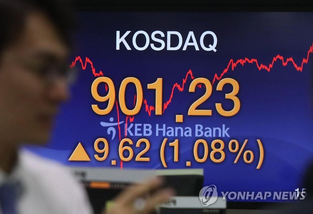 韩创业板指破900点