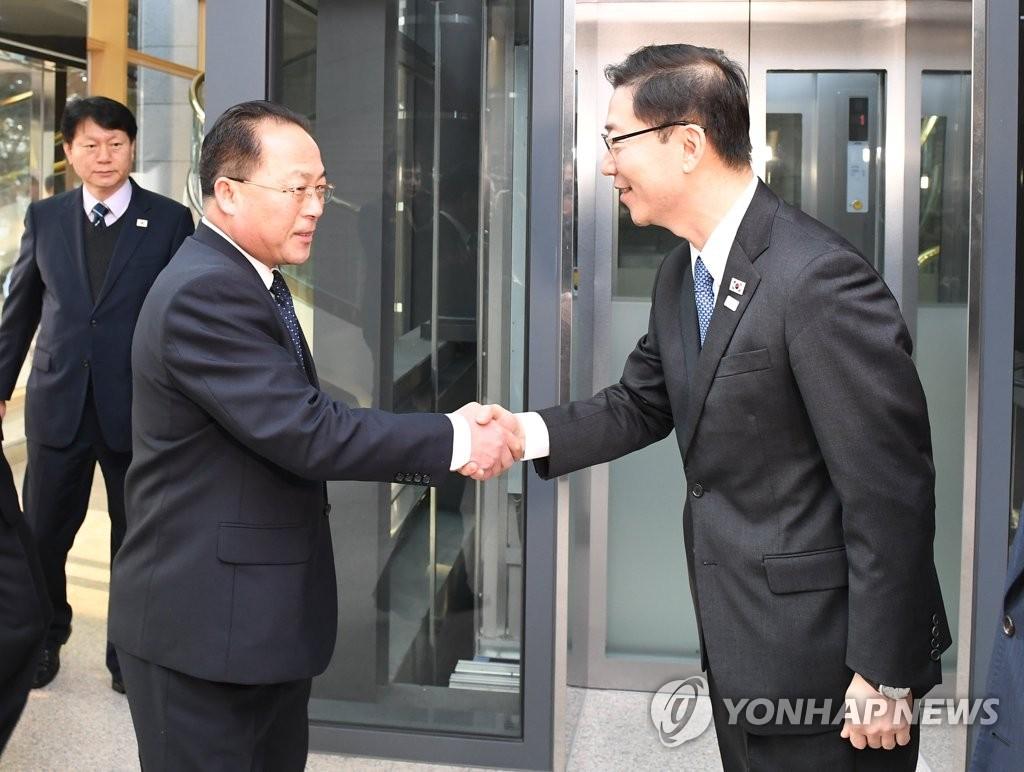 韩朝联办主任会议时隔一月举行