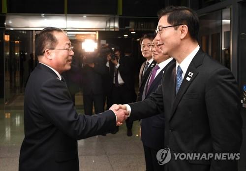 韩政府:韩朝联办主任会议未谈首脑会谈事宜