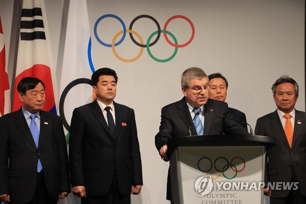 巴赫发布朝鲜参奥会谈结果