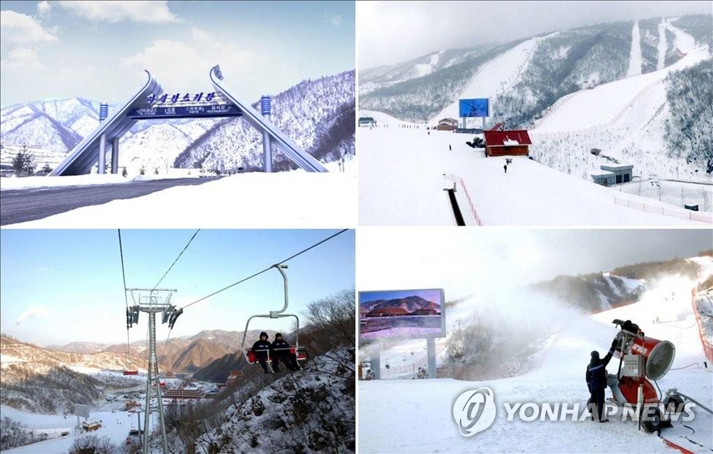 朝媒宣传马息岭滑雪场