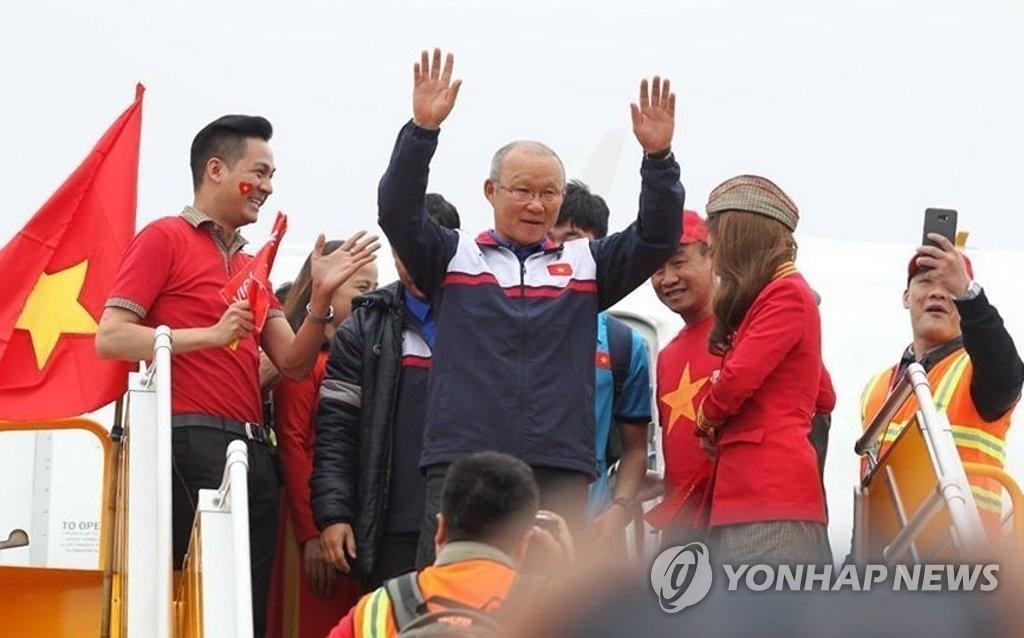 """韩籍教练朴恒绪成越南""""英雄"""""""
