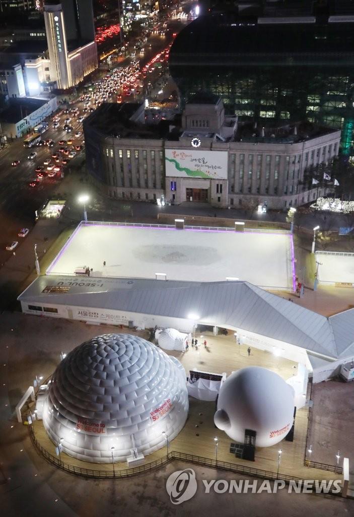 首尔广场设ICT体验馆