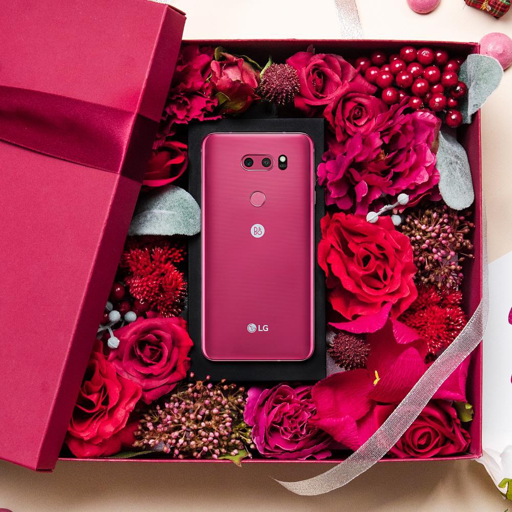 LG V30树莓红版本热销