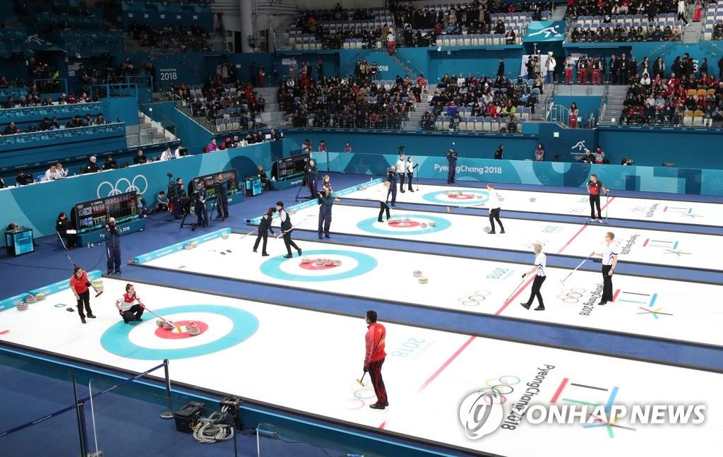 平昌冬奥首场比赛开始