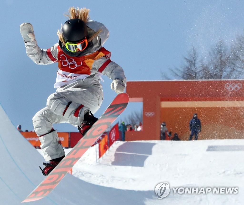 韩裔美国单板滑雪名将克洛伊·金