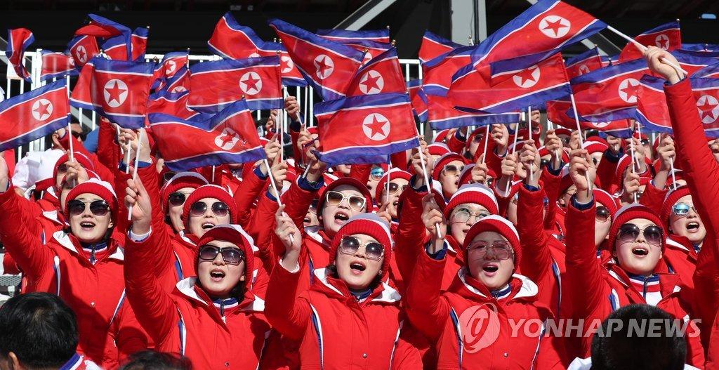 朝鲜滑雪选手:韩朝联合加油特别给力 - 3