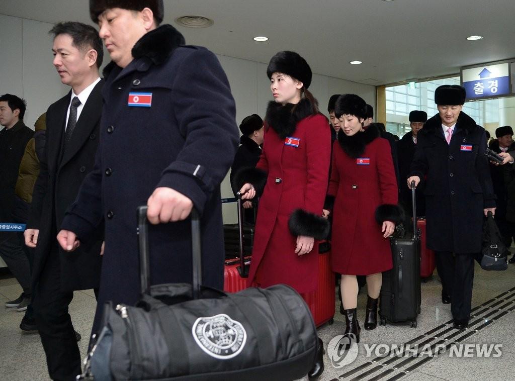 朝鲜滑雪选手:韩朝联合加油特别给力 - 2