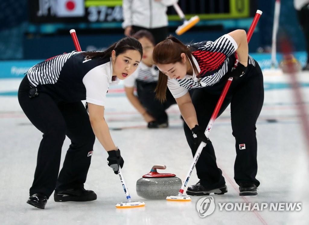冬奥冰壶女子预赛韩日战