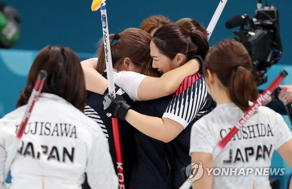 韩女壶进决赛
