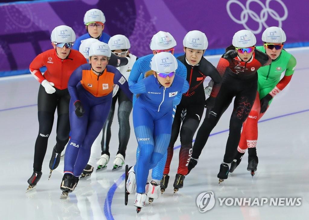 金宝凛晋级速滑女子集体出发决赛