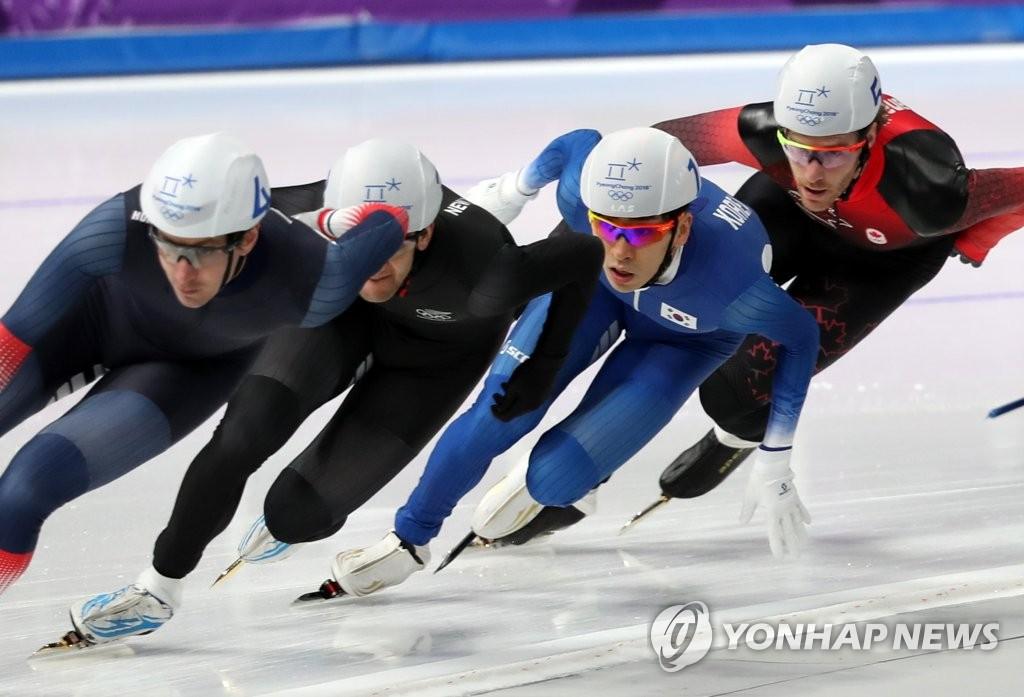 李承勋晋级速滑男子集体出发决赛