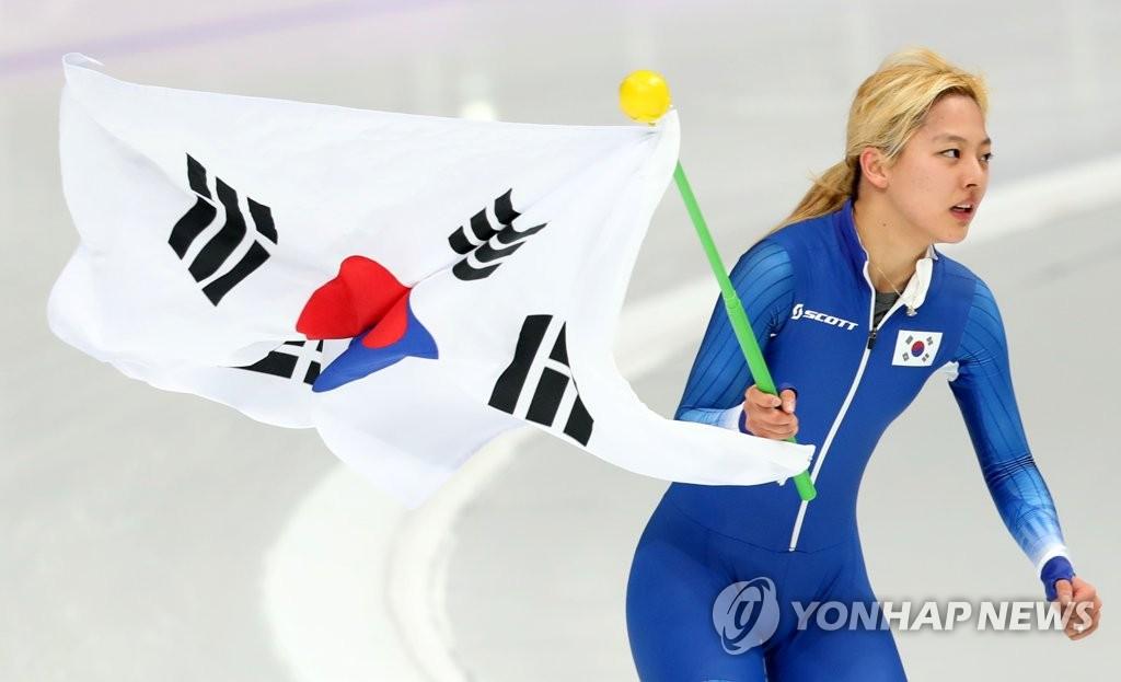 韩国速滑选手金宝凛摘银