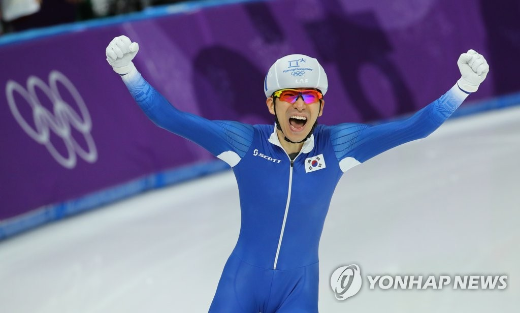 李承勋摘冬奥速滑集体出发金牌