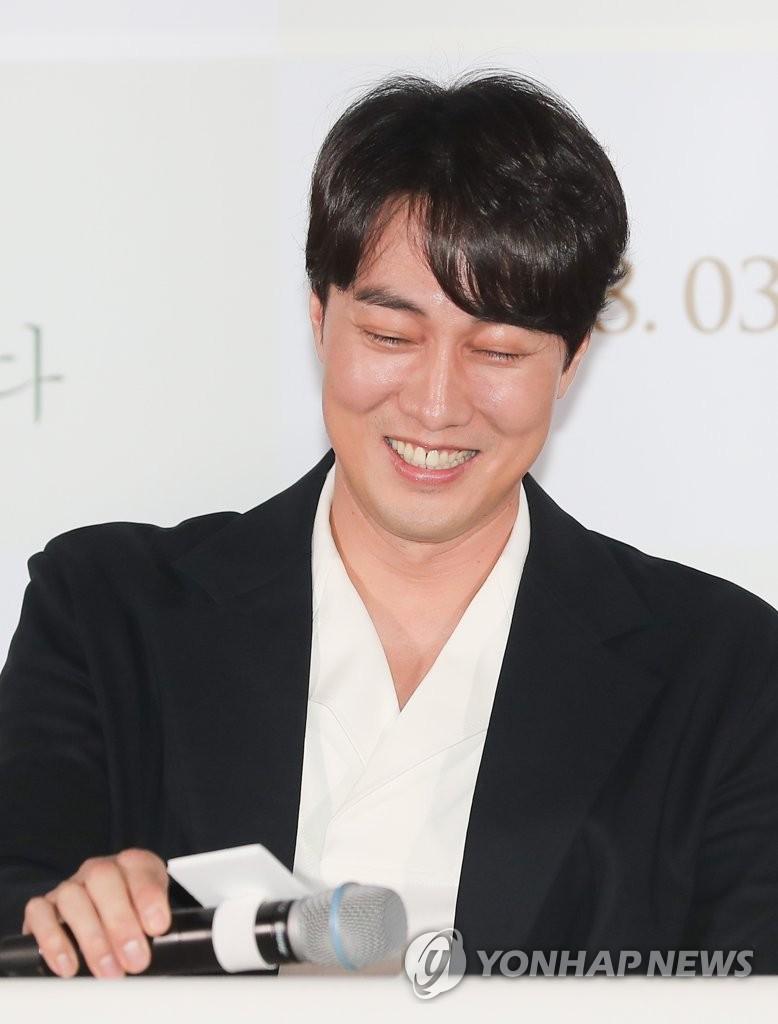 演员苏志燮的微笑杀